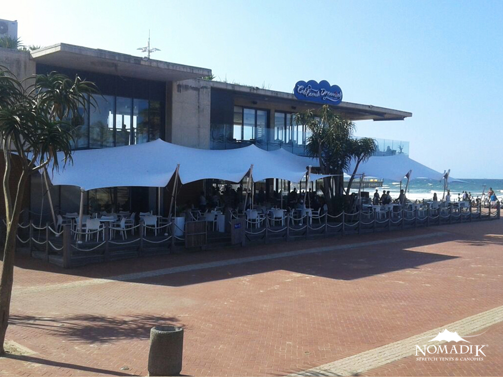 Outdoor restaurant custom fitted