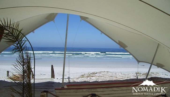 Perfect small stretch tent beach shelter