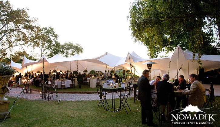 Stretch tent for Summer Place function