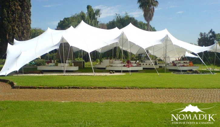 Stretch tent hire for the perfect corporate function