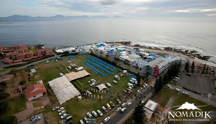 Marquees at ABSA Cape Epic