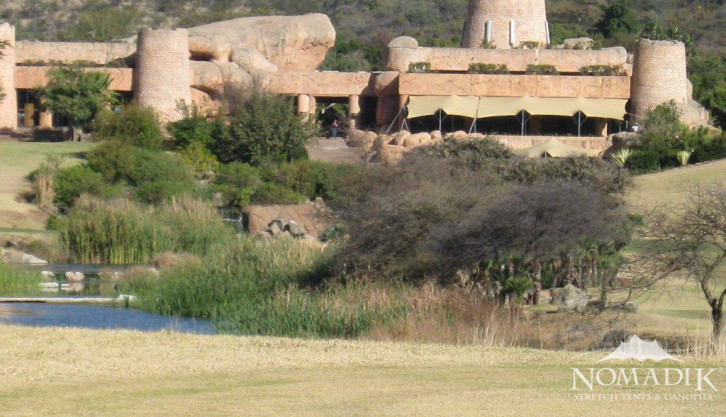 Stretch tents at Sun City