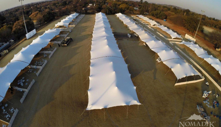 Largest commercial stretch tent event in world - Walk the Talk